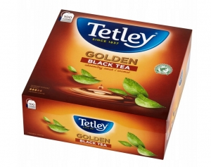 Herbata Tetley Golden Black Tea Czarna 100szt